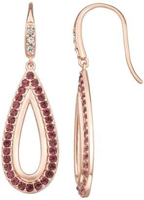 Harper Stone Crystal Teardrop Earrings