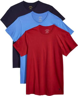 Polo Ralph Lauren Men's 3-Pk. Classic Crew-Neck Shirts