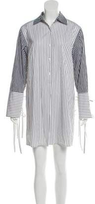 Tome Stripe Shirt Dress