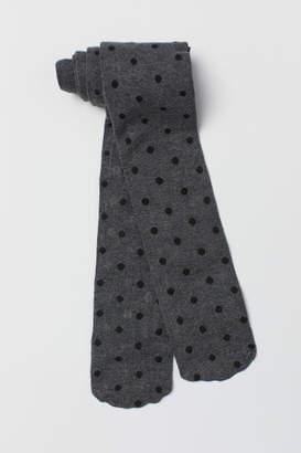 H&M Fine-knit Tights - Gray