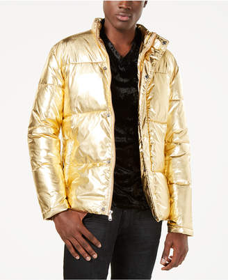 INC International Concepts I.n.c. Men Metallic Puffer Jacket