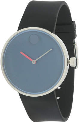 Movado Men's Rubber Strap Watch