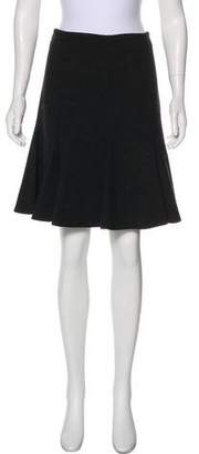 Akris Punto Jersey Knee-Length Skirt
