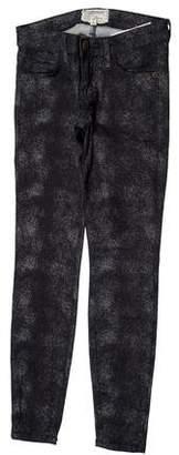 Current/Elliott Low-Rise The Stiletto Skinny Jeans