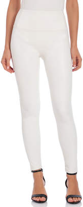 Bagatelle Faux-Leather High-Rise Leggings