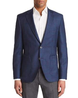 BOSS Janson Regular Fit Tonal Windowpane Sport Coat
