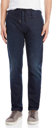 Dstrezzed Double Waistband Tapered Pants