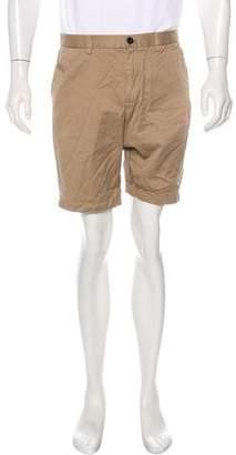 Michael Kors Woven Khaki Shorts