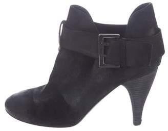 Donald J Pliner Leather High Heel Boots
