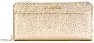 MICHAEL Michael Kors metallic zip around wallet