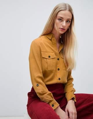 New Look Yellow Utility Shirt