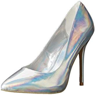 Pleaser USA AMU20/SHGPU Women's Dress Pump