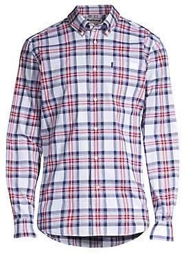 Barbour Men's Tattersall Plaid Button-Down Shirt