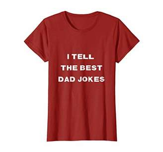 DAY Birger et Mikkelsen Father's TShirt: I Tell the Best Dad Jokes