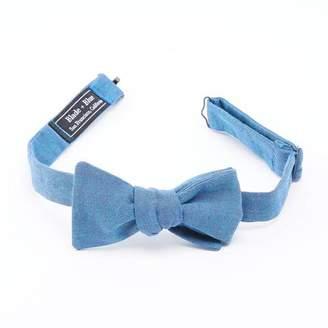 Blade + Blue Solid Aqua Blue Bow Tie