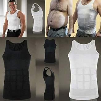 Men Body Slimming Tummy Shaper Belly Underwear shapewear Waist Girdle Shirt (XL