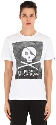 Hydrogen Be Proud Of Your Flag Cotton T-Shirt