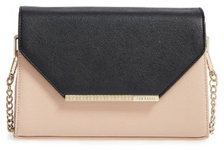 Ted Baker London Envelope Crossbody Bag - Beige $139 thestylecure.com