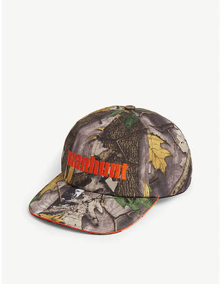 4cb5733f3f5 A Bathing Ape Forest camouflage-print cotton baseball cap