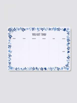 Draper James Floral Weekly Calendar