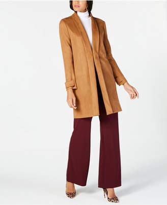 INC International Concepts I.n.c. Petite Faux-Suede Jacket