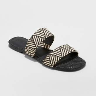 Universal Thread Women's Anniemae Woven Slide Sandal
