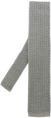 Tom Ford crochet square edge tie