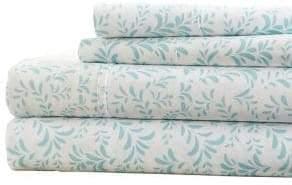 Blissful Bedding Premium Ultra Burst of Vines Four-Piece Bed Sheet Set