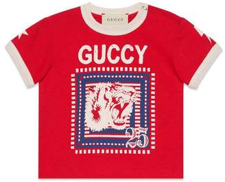 Gucci Baby T-shirt with Guccy print