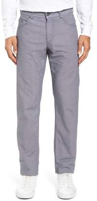 Brax Cooper Bird's Eye Stretch Cotton Pants