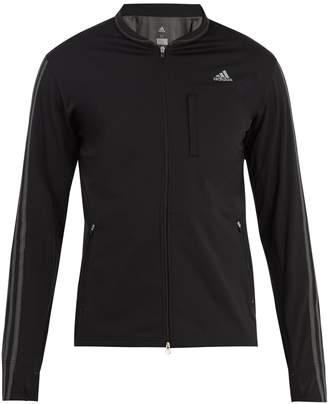 adidas Logo-print jersey track jacket
