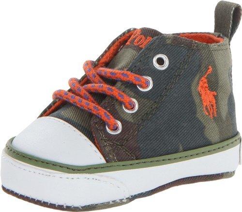 Ralph Lauren Harbour Hi Sneaker (Infant/Toddler)