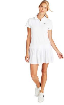 Vineyard Vines Short-Sleeve Pleated Golf Polo Dress