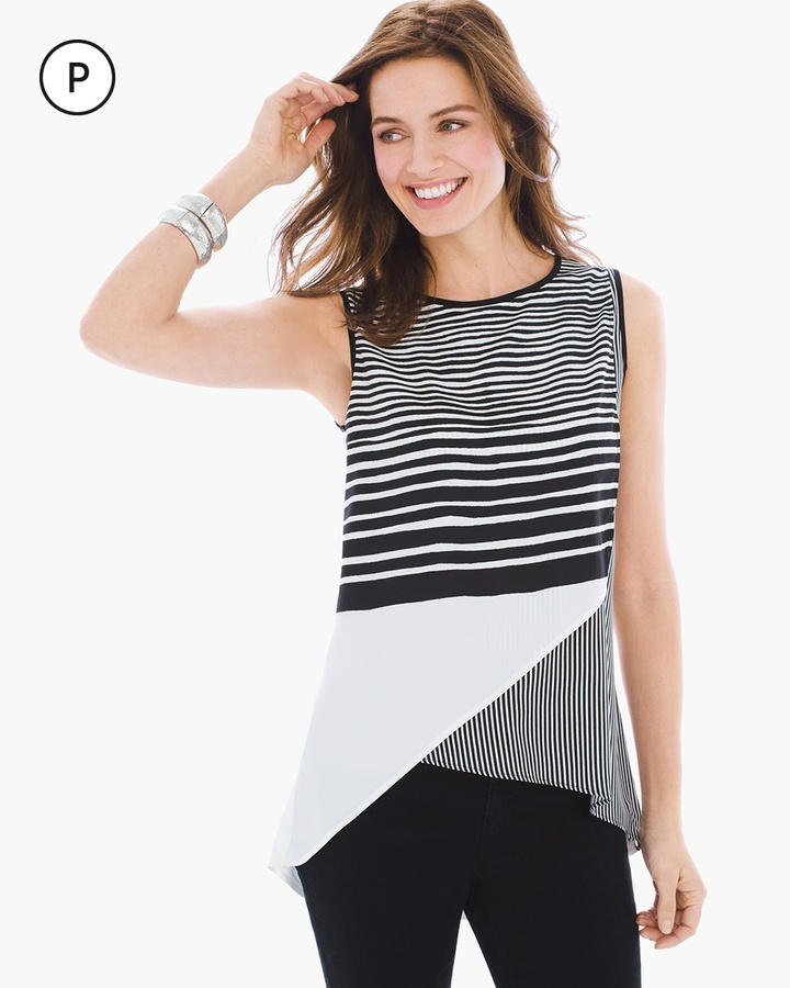 Chico's Limitless Stripe Tunic