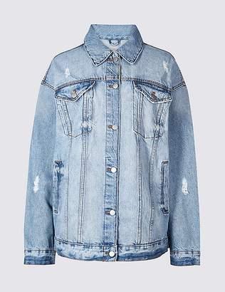 Marks and Spencer Oversized Denim Jacket