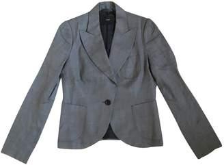 Et Vous Grey Cotton Jacket for Women