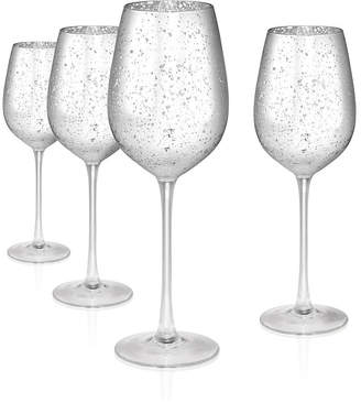 Artland Atland Silver Rustica 17 oz. Goblet, Set of 4