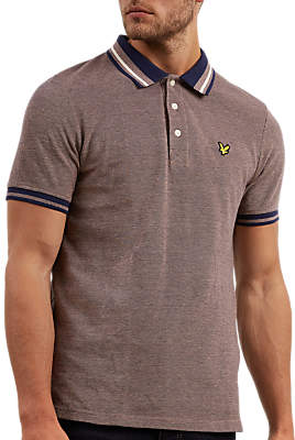 Lyle & Scott Oxford Tipped Polo Shirt