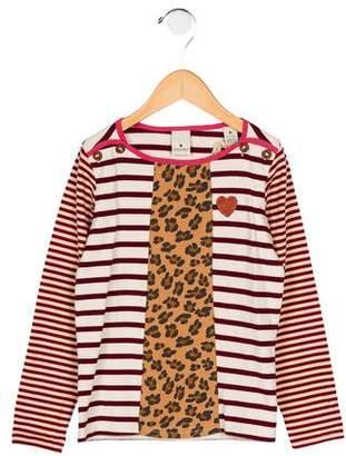 Scotch R'Belle Girls' Striped Long Sleeve Top w/ Tags
