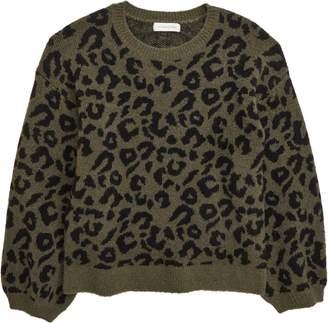 Treasure & Bond Leopard Sweater