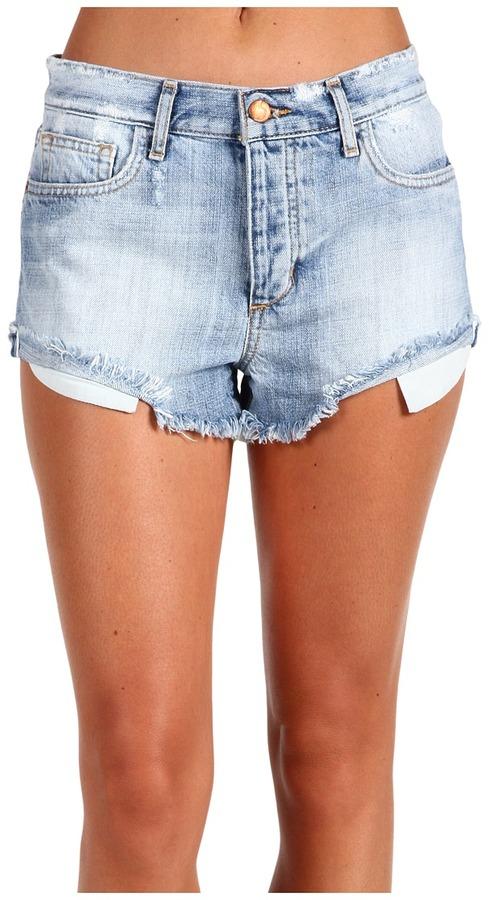 Joe's Jeans - High Rise Cut-Off Short in Elise (Elise) - Apparel