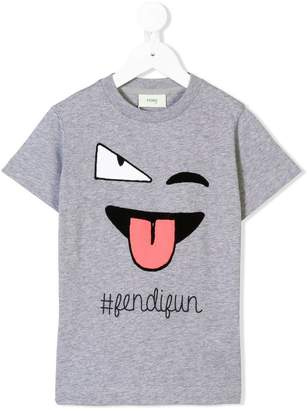 Fendi Sweat Face T-shirt