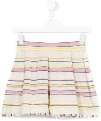 Bellerose Kids striped skirt