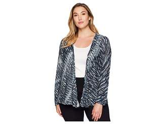 Nic+Zoe Plus Size Green Light Four-Way Cardy