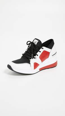 980041281209 MICHAEL Michael Kors Red Women s Sneakers - ShopStyle