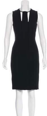 Akris Wool Cutout Dress w/ Tags
