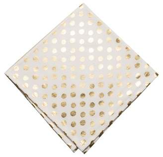 Mercer41 Owens Metallic Polka Dot 20 Napkin