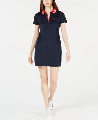 Juicy Couture Contrast Polo Dress