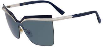 MCM Rimless Shield Sunglasses