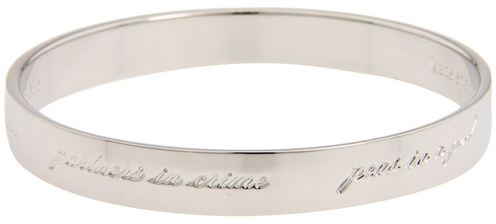 Kate Spade New York Idiom Bangles - Bridal Engraved